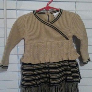 Hanna Anderson girls sweater dress.